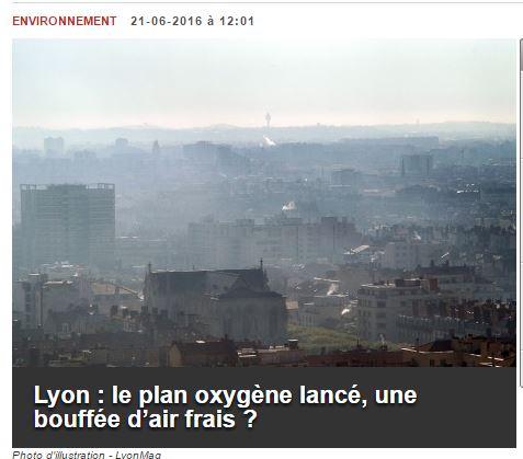 Plan oxygène Lyon mag