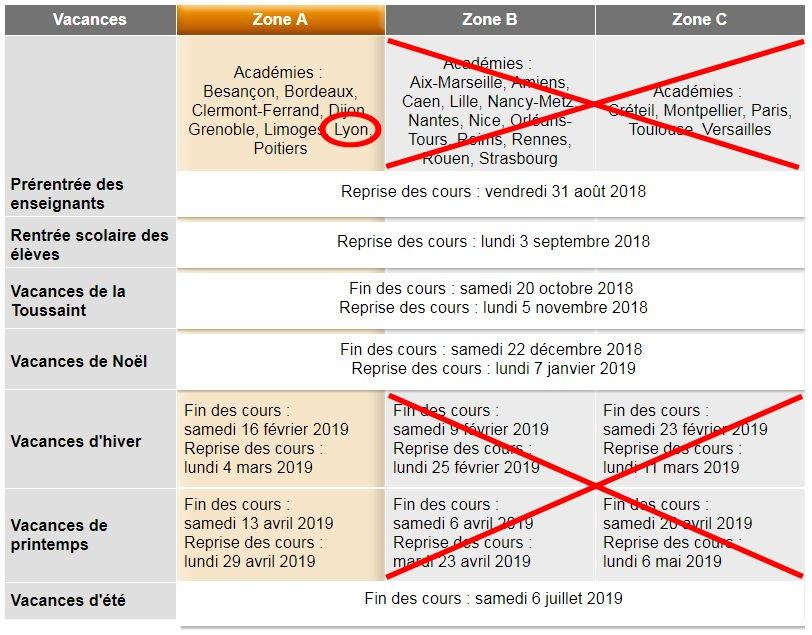Calendrier Vacances Scolaires 2019 Nantes.Calendrier Des Vacances Scolaires Ecole Primaire Michel Servet